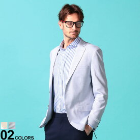 Calvin Klein (カルバン クライン) ストレッチ 無地 シングル 2ツボタン ジャケット SLIMFITブランド メンズ 男性 アウター ジャケット テーラード 無地 フォーマル ビジカジ ストレッチ スリム CKMOBRIDGE7AX