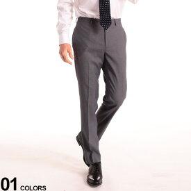 Calvin Klein (カルバン クライン) ストレッチ ノータック スラックス SLIMFITブランド メンズ 男性 ビジネス ボトムス スラックス ロングパンツ スリム 細身 フォーマル 無地 ストレッチ CKJERRYJSY0445