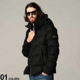 TATRAS (タトラス) ウール100% フード取り外し フルジップ ダウンジャケット AGORDOブランド メンズ 男性 アウター ジャケット ブルゾン ダウン 秋 冬 パーカー フード 防寒 シンプル TRMTKE20A4148