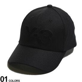 Y-3 (ワイスリー) コットン ロゴ刺繍 キャップ CLASSIC LOGO CAPブランド メンズ 男性 帽子 キャップ ベースボールキャップ アディダス スポーツ 日よけ シンプル Y3GK0626