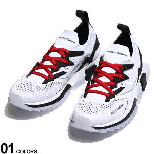 DOLCE&GABBANA (ドルチェ&ガッバーナ) ストレッチメッシュ レースアップ ソレントスニーカーブランド メンズ 男性 シューズ 靴 スニーカー メッシュ ロゴ ドルガバ ローカット スポーツ DGCS1822AW47