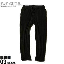 大きいサイズ メンズ B&T CLUB (ビーアンドティークラブ) KAITEKI WEAR 4WAYストレッチ 防臭 フリース ロングパンツ パンツ ロングパンツ フリース 暖かい 秋 冬 伸縮 部屋着 872711Z