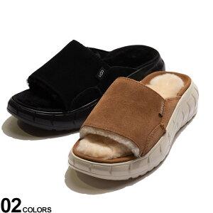 UGG australia (アグオーストラリア) スエード シープスキン サンダル WESTSIDER SLIDEブランド レディース シューズ 女性 靴 サンダル スリッパ レザー スニーカー スライド UGGL1118135