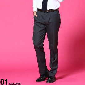 Calvin Klein (カルバンクライン) ストレッチ 無地 ノータック スラックス SLIM GRAYブランド メンズ 男性 ボトムス パンツ ロングパンツ スラックス 無地 スリム 伸縮 きれいめ フォーマル CKJRREPJSYS250