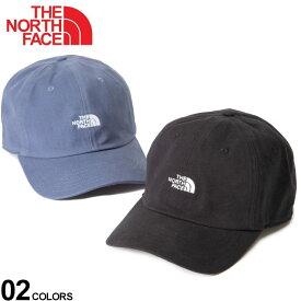 ザ ノースフェイス キャップ THE NORTH FACE 帽子 ロゴ刺繍 コットン WASHED NORM HATメンズ 男性 レディース 帽子 キャップ ベースボールキャップ 春 夏 アウトドア レジャー NF0A3FKN