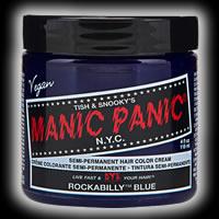 マニックパニック / MANIC PANIC ヘアカラー ロカビリーブルー 11039【マニックパニック/マニパニ/ヘアカラー/毛染め/髪染め/発色/艶色/安全/118ml/manicpanic/MP】【05P03Dec16】
