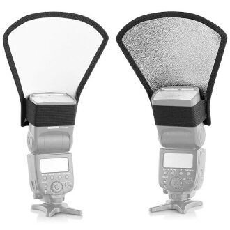 Neewer flash D fuser silver / white reflector