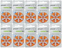 パワーワン power one補聴器空気電池PR48(13) 10パック(60粒)