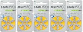 パワーワン power one補聴器空気電池PR536(10) 5パック(30粒)