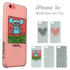 iPhone5c アイフォン5c ケース カバー iphone 透明キースヘリング iPhone5c クリアケース キース・ヘリング iPhone5