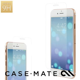 Case-Mate iPhone8 Plus/iPhone7 Plus/6s Plusクリアケース iPhone8 Plus/iPhone7 Plus/6s Plus/6 Plus ケース Case-Mate Glass Screen Protector ケースメイト 美しく液晶画面を保護する硬度9Hの強化ガラスフィルム 2個までメール便対応 クリスマス ギフト