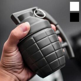 Grenade Mug 手榴弾型マグカップ蓋付き手榴弾型マグカップ 蓋付き Grenade Mug MK2通称:パイナップル 磁器 キッチン雑貨 軍 ミリタリー コップ アメリカン雑貨 ユニーク お歳暮 アフターセール!