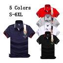 ゴルフウェア ゴルフポロ メンズ 半袖 POLO tシャツ カットソー 胸刺繍 プリント ゴルフウェア トップス カジュアルシ…