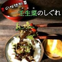 壬生菜のしぐれ4
