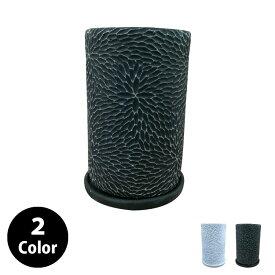 植木鉢 おしゃれ コンクリートポット CC036-225 4.5号(14cm) / 陶器鉢 白 セメント