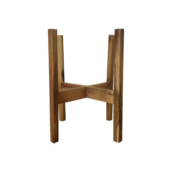 植木鉢 おしゃれ ポットスタンド FR302-225 6号用 / 花台 フラワースタンド 木製 ウッド