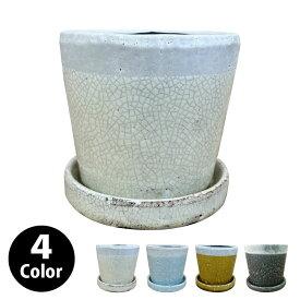 植木鉢 おしゃれ シャビーポット KT403-125 4号(12.5cm) / 陶器鉢 アンティーク