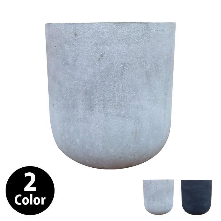 植木鉢 おしゃれ グラスファイバーの鉢カバー MM029-270 9号(27cm) / 陶器鉢 大型 セメント 軽い