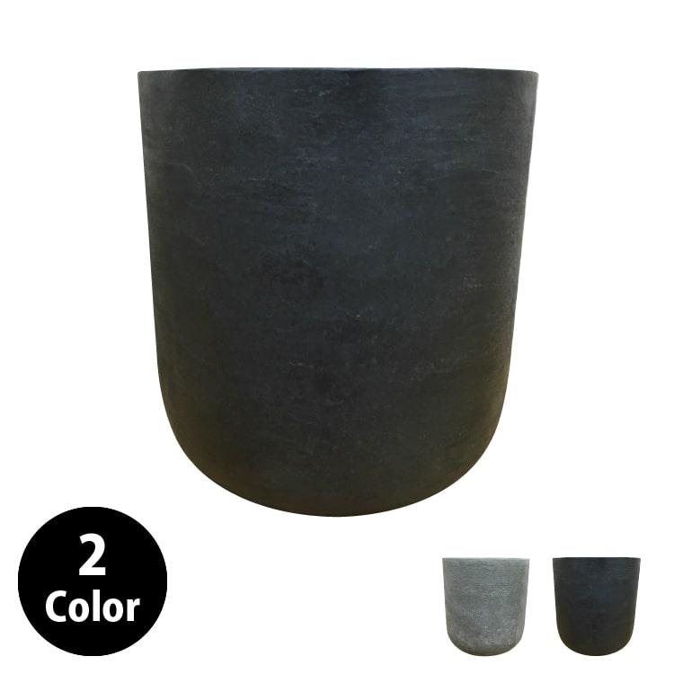 (送料無料) 植木鉢 おしゃれ グラスファイバーの鉢カバー MM029-370 12号(37cm) / 陶器鉢 大型 セメント 軽い