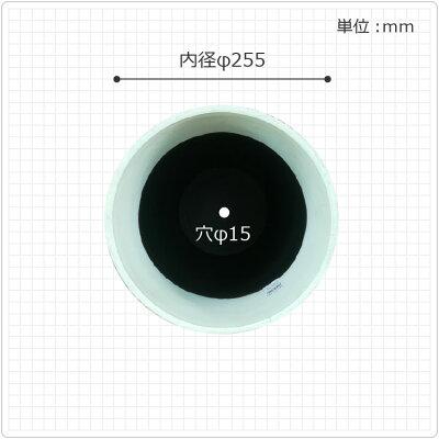 【期間限定送料無料】植木鉢おしゃれFRPポットUN001-2809号(28cm)/大型石プラスチック白軽い