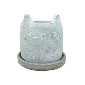 植木鉢 可愛いアニマルポット UN446-120 4号(12cm) 鉢底穴有り 受け皿付き