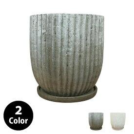 植木鉢 おしゃれ 8号用鉢カバー YS0576-290 10号(29cm) / 陶器鉢 受け皿付き 大型