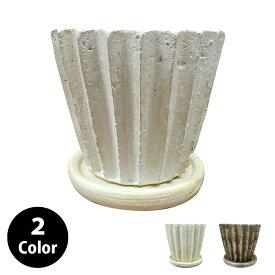 植木鉢 おしゃれ シャビーポット YS0592-125 4号(12.5cm) / 陶器鉢 アンティーク