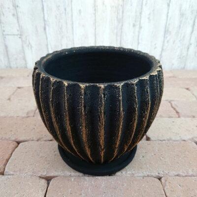 5号用鉢カバーYS1134-20020cm7号おしゃれな植木鉢/アンティーク