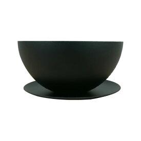 植木鉢 おしゃれ アイアンポット YS1854-120 4号(12cm) / 鉄 浅型