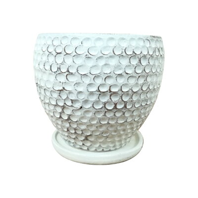 5号用鉢カバーYS1900-20520.5cm7号おしゃれな植木鉢/アンティーク
