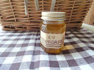 令和2年採蜜 大変珍しい栗ハチミツ!!甘さ控えめ ビターな味の蜂蜜で木製サーバーセットです。内容量170g