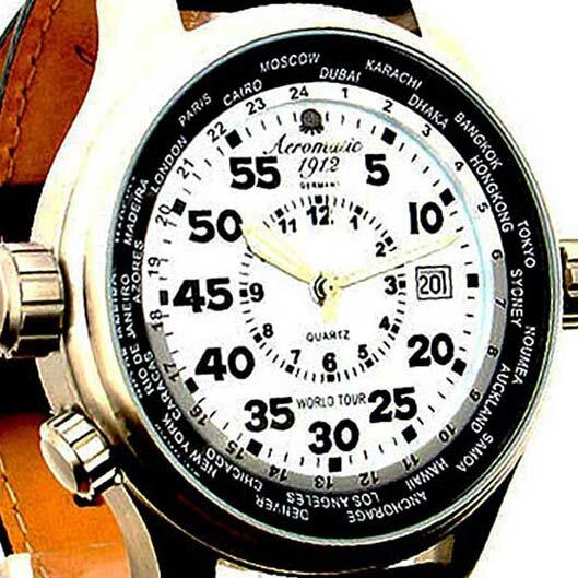 Aeromatic 1912 エアロマティック 1912 エアロマチック 1912 クォーツ 腕時計 メンズ パイロットウォッチ [A1268] 並行輸入品 メーカー保証24ヶ月&純正ケース付き