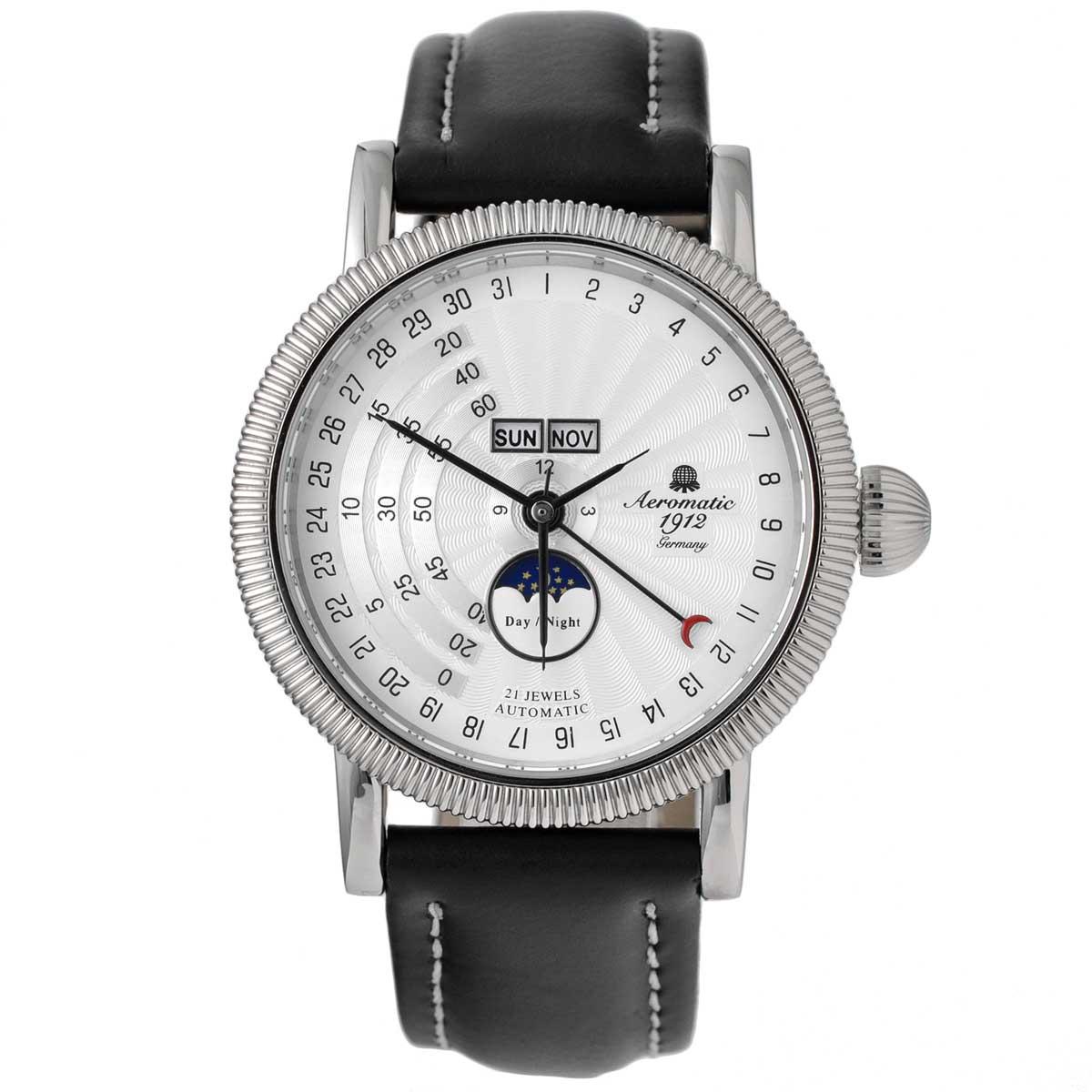 Aeromatic 1912 エアロマティック 1912 エアロマチック 1912 自動巻き 腕時計 メンズ パイロットウォッチ [A1281] 並行輸入品 メーカー保証24ヶ月&純正ケース付き