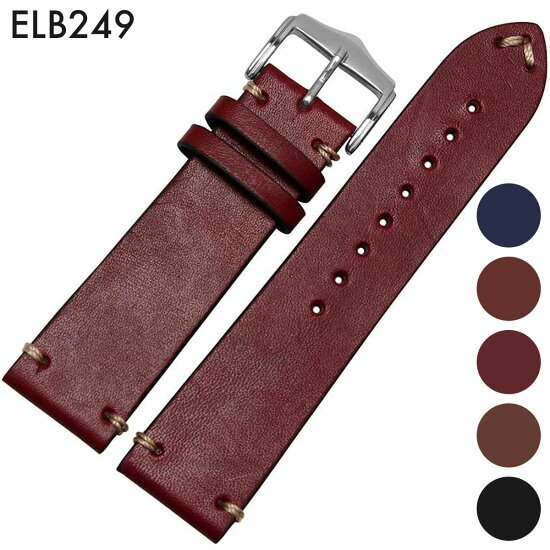 供手錶皮帶表帶替換吊帶公司外物品泛使用的皮革皮帶皮革皮帶裝設寬20mm/22mm適用: 有ROLEX勞力士,OMEGA奥米伽,ZENITH Zenith(尾巴鎖)大頭針帶扣[Eight-ELB249] hachigoten