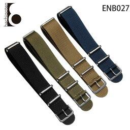 供手錶皮帶表帶替換吊帶公司外物品泛使用的尼龍皮帶裝設寬18/20/22/24mm適用: 有Luminox Lumi敲門(尾巴鎖)大頭針帶扣[Eight-ENB027]