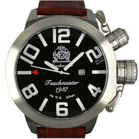 Tauchmeister 1937 トーチマイスター 1937 クォーツ 腕時計 メンズ ダイバーズウォッチ U-BOOT(ユーボート)[T0225] 正規代理店品 メーカー保証24ヶ月&純正ケース付き