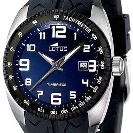 【残り1点】LOTUS ロータス 電池式クォーツ 腕時計 [15568-2] 並行輸入品 デイト タキメーターベゼル