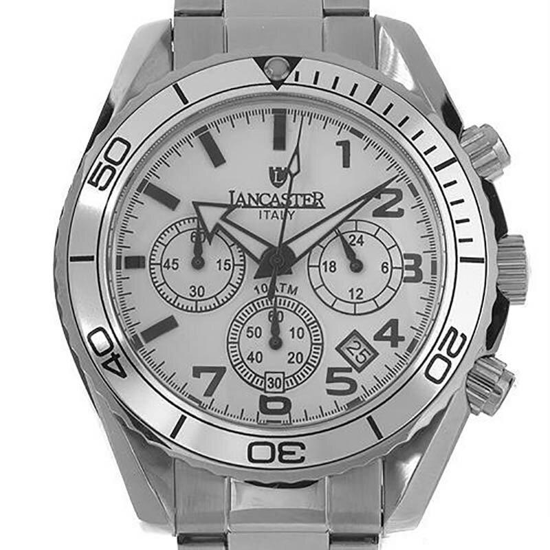 【残り1点】LANCASTER ランカスター 電池式クォーツ 腕時計 [OLA0501BN] 並行輸入品 純正ケース メーカー保証 24ヶ月