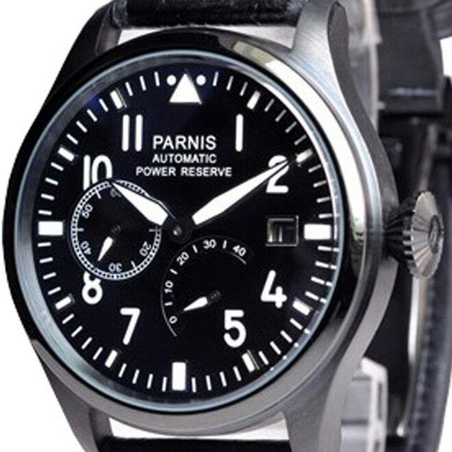 PARNIS パーニス 手巻き 腕時計 メンズ [PN-007S3ML] 並行輸入品 当店保証24ヵ月