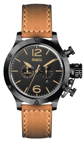 【残り1点】MWG モラリティー クォーツ 腕時計 メンズ ダイバーズウォッチ [Vintage-01] 並行輸入品 純正ケース付き メーカー保証24ヶ月