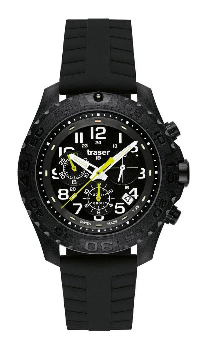 【残り1点】traser トレーサー クォーツ 腕時計 メンズ ミリタリーウォッチ [greenspirit] 並行輸入品 メーカー保証24ヵ月 純正ケース付き