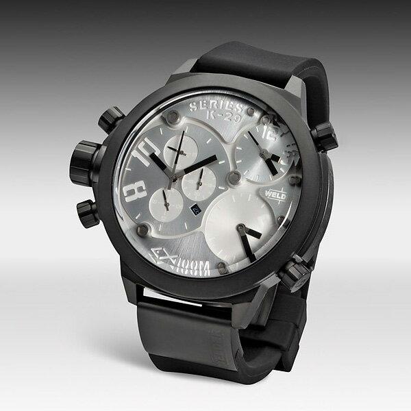 【ポイント10倍】【残り1点】WELDER ウェルダー U-BOAT ユーボート クォーツ 腕時計 メンズ おしゃれ [K29-8000] 並行輸入品 メーカー保証24ヵ月 純正ケース付き
