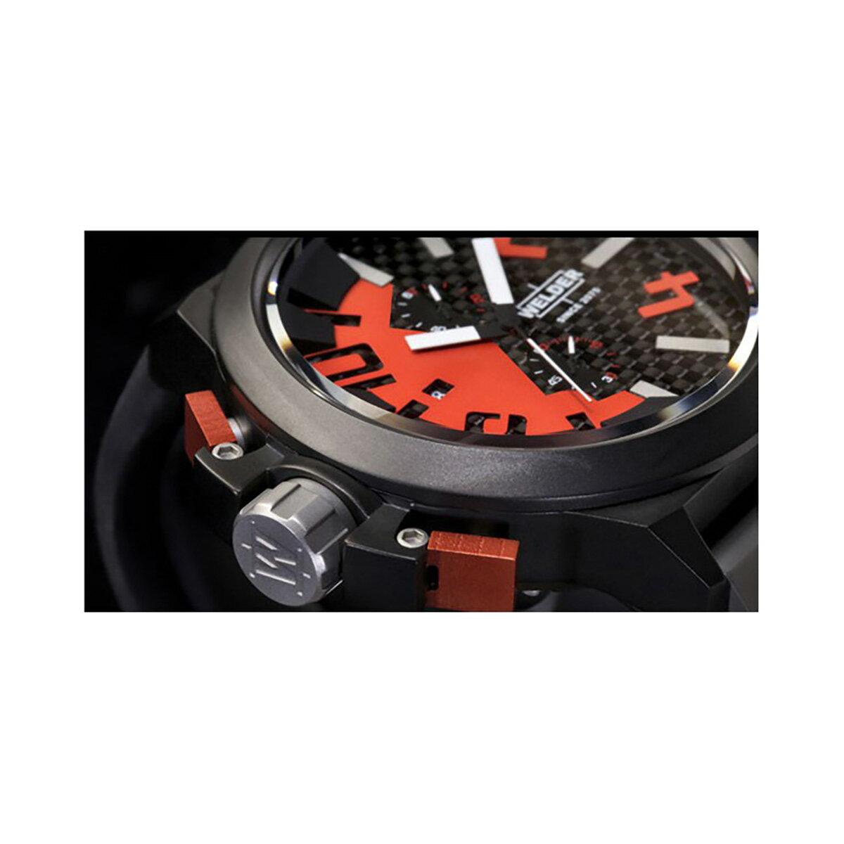 【ポイント10倍】【残り1点】WELDER ウェルダー U-BOAT ユーボート クォーツ 腕時計 メンズ おしゃれ [K35-W2501] 並行輸入品 メーカー保証24ヵ月 純正ケース付き