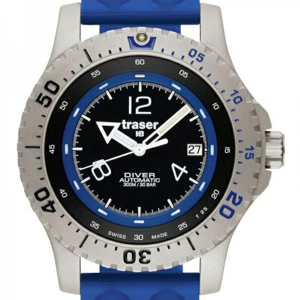 【残り1点】traser トレーサー 自動巻き 腕時計 メンズ ミリタリーウォッチ [P6602-F58-F4A-01] 並行輸入品 メーカー保証24ヵ月 純正ケース付き