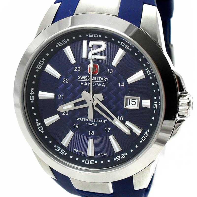 【残り1点】Swiss Military Hanowa スイスミリタリーハノワ クォーツ 腕時計 メンズウォッチ [06-4276.04.003] 並行輸入品 純正ケース