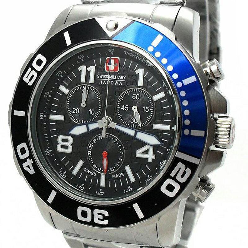 【残り1点】Swiss Military Hanowa スイスミリタリーハノワ クォーツ 腕時計 メンズウォッチ [06-5262.04.007.03] 並行輸入品 純正ケース