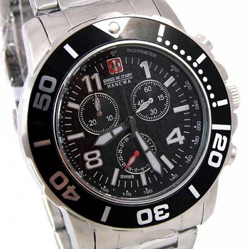 【残り1点】Swiss Military Hanowa スイスミリタリーハノワ クォーツ 腕時計 メンズウォッチ [06-5262.04.007.07] 並行輸入品 純正ケース