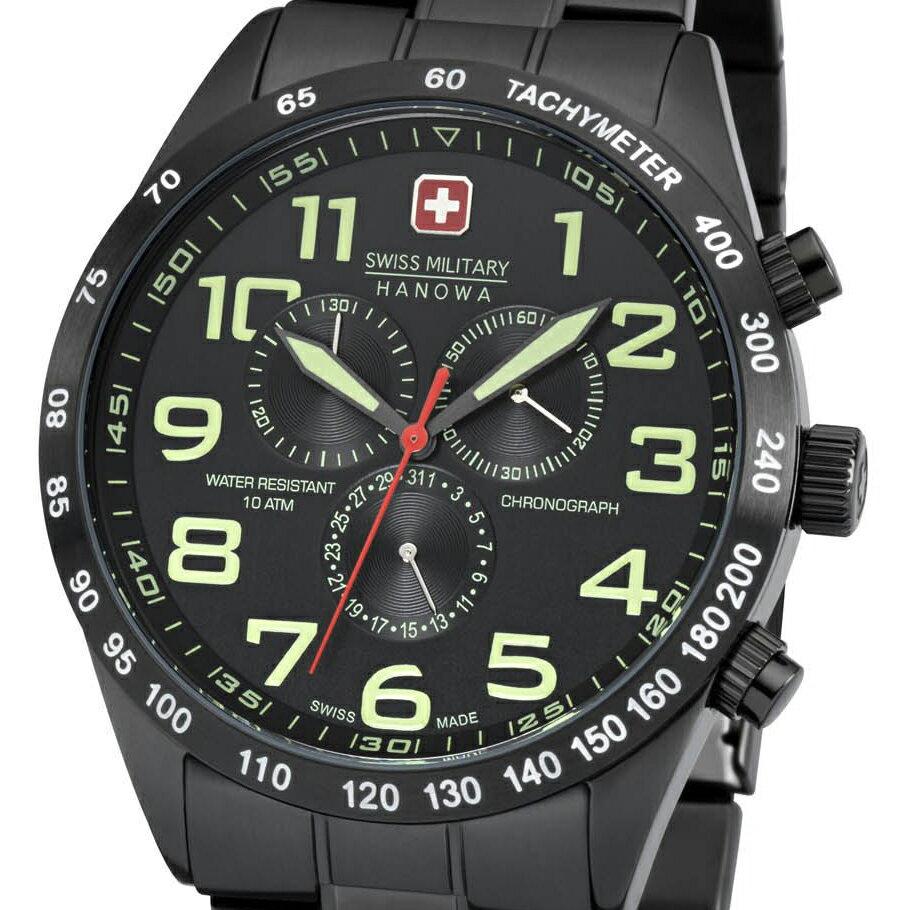 【残り1点】Swiss Military Hanowa スイスミリタリーハノワ クォーツ 腕時計 メンズウォッチ [06-5268.13.007] 並行輸入品 純正ケース