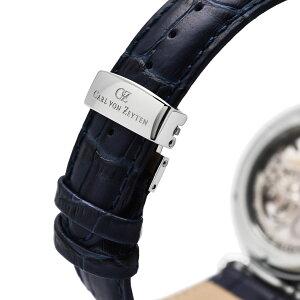 CarlvonZeytenカール・フォン・ツォイテンELZACHエルツァッハ自動巻き(手巻き機能あり)腕時計[CvZ0031WH]正規代理店品