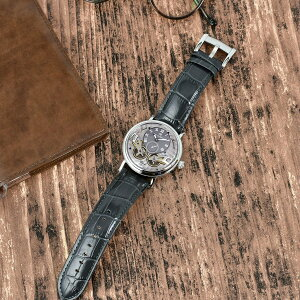 CarlvonZeytenカール・フォン・ツォイテン自動巻き(手巻き機能あり)腕時計[CvZ0017SGY]正規品スケルトンダブルテンプ